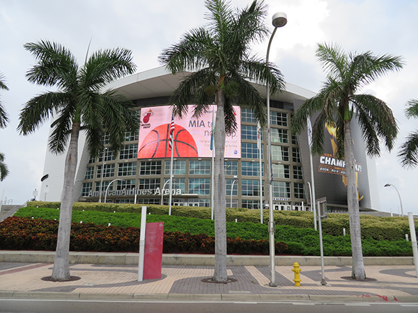 At American Airlines Arena capacity will be close to 100% for the playoffs.
