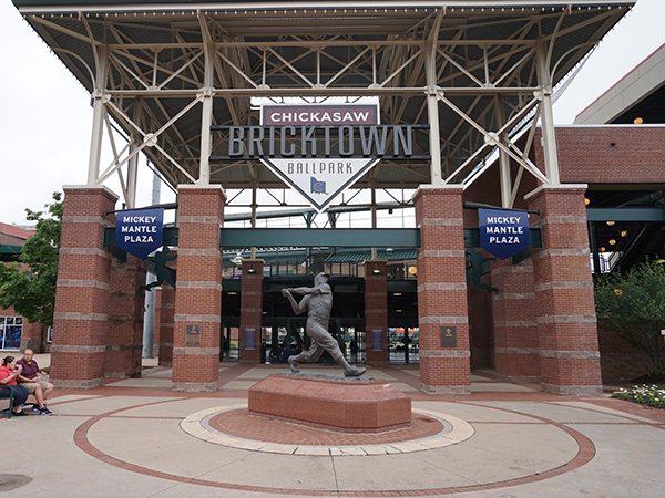 The Dodgers are providing minor league baseball fans with added amenities at Chickasaw Bricktown Ballpark.