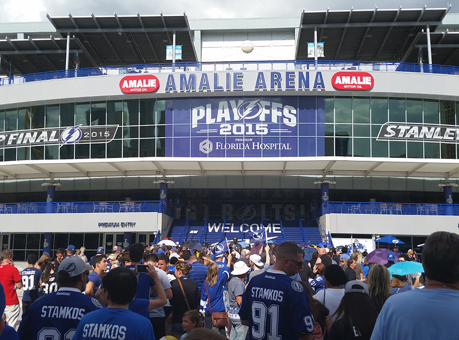 Updated NHL arena capacity rules allowed the Lightning, a formidable postseason team, to regain some home ice advantage.