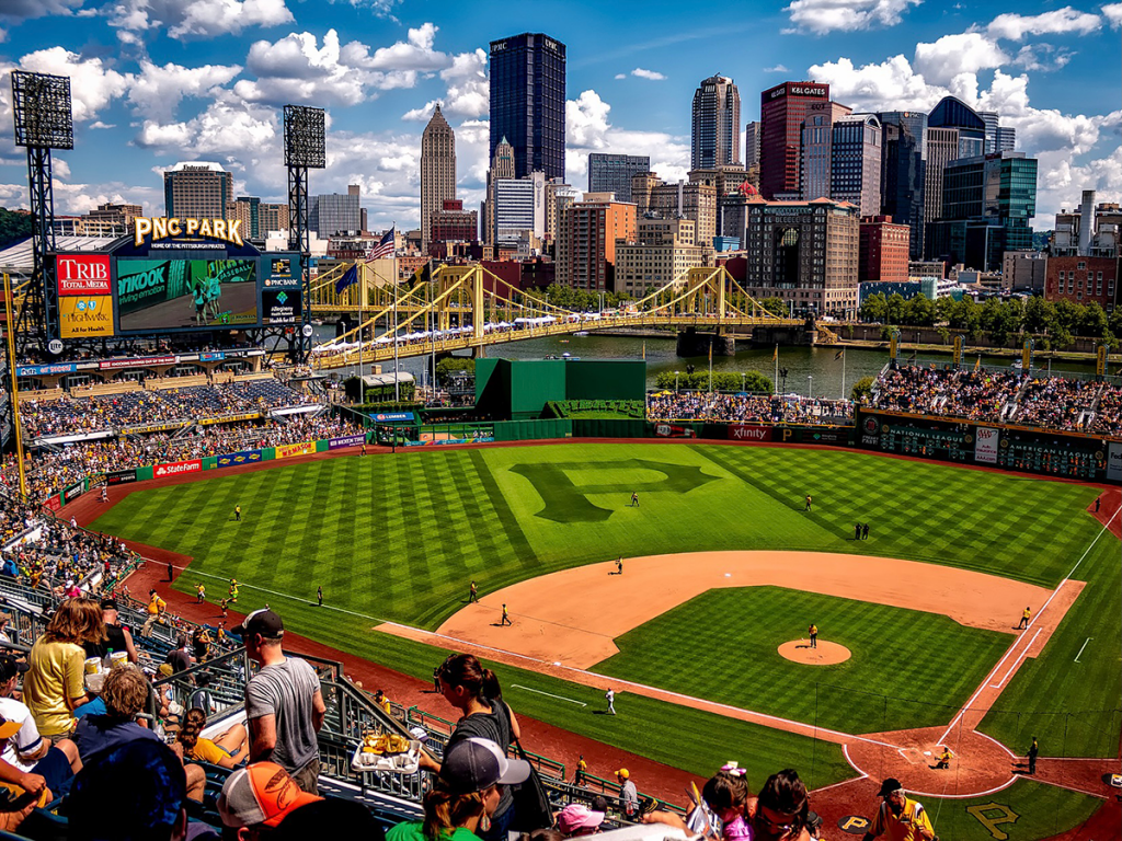 Stadium capacity is increasing to 100% at Pittsburgh's PNC Park.