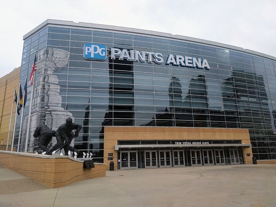PPG Paints Arena was one of the first to return to 100% capacity under the latest NHL arena capacity guidelines.
