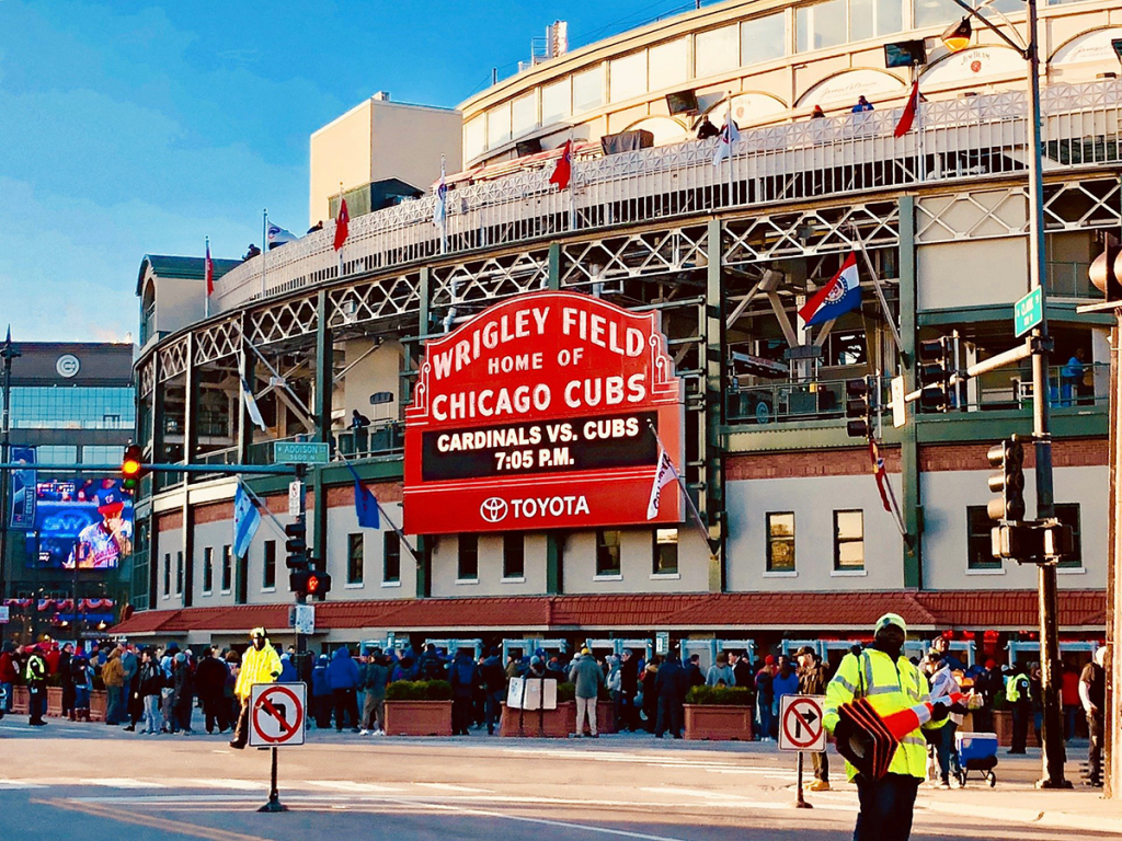 Wrigley Field is now one of many places where stadium capacity is increasing.