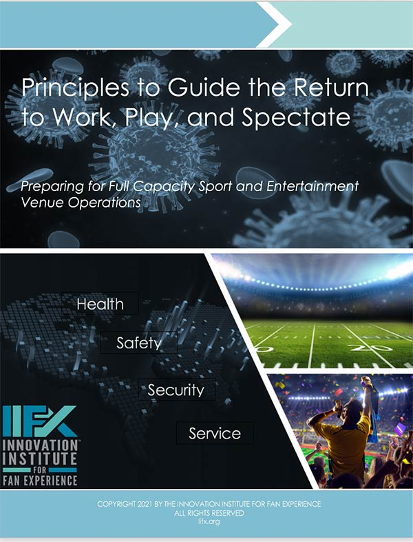 Principles to Guide the Return to Work, Play, and Spectate