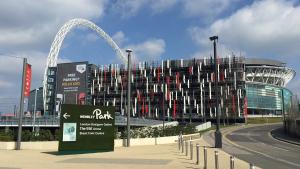 Per the latest Euro 2020 capacity rules, Wembley Stadium will open to 75% capacity.